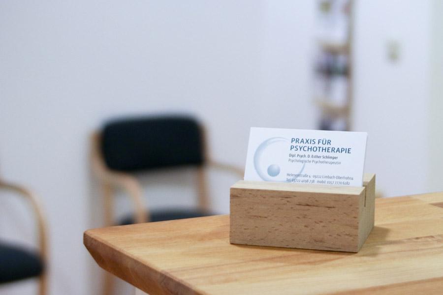 Praxis Psychotherapie Esther Schlimper Limbach-Oberfrohna